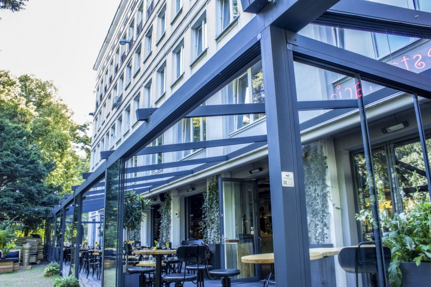 Restaurant Na Lato, Warszawa, Polen