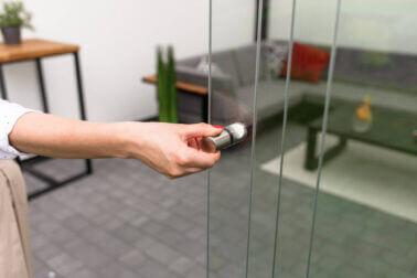przesuwne drzwi na taras